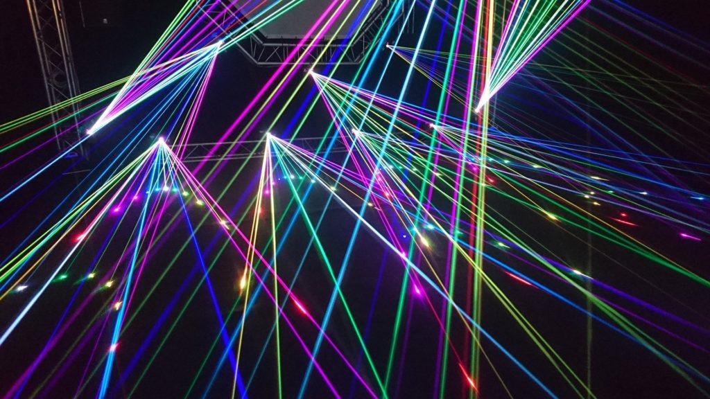 lightshow Lumière spectacle